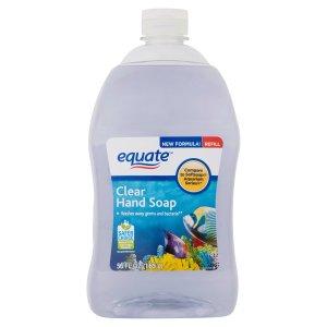 equate洗手液 1.65升补充装 共2瓶