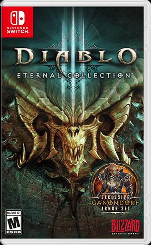 《Diablo 大菠萝 III:永恒典藏版》Switch 数字版