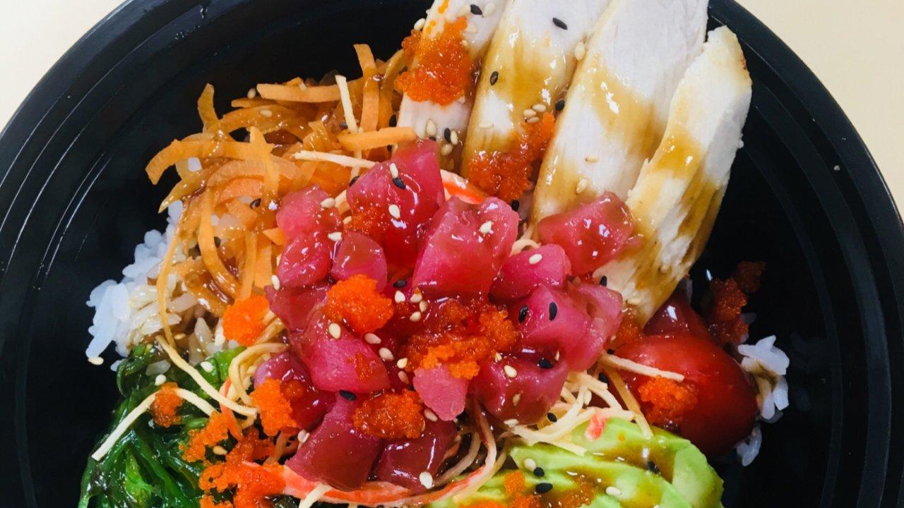 夏季轻食之poke bowl