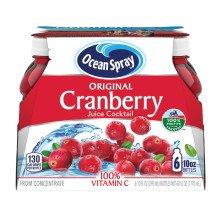 蔓越莓汁 10oz 6瓶装