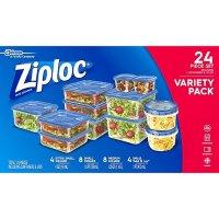 Ziploc 保鲜盒24件套