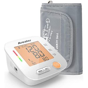 Arealer Blood Pressure Monitor Upper Arm, Digital Blood Pressure Machine