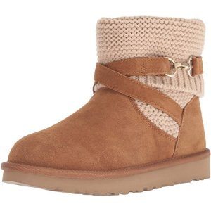 UGG Women's W PURL Strap Fashion Boot