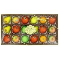 Bergen Marzipan 综合水果口味糖果 水果造型 18颗装