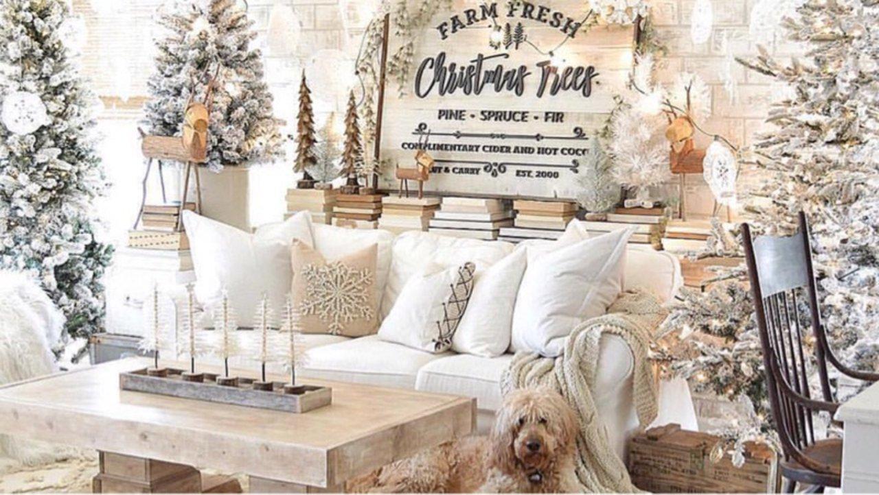 打造一个浓浓的圣诞气氛,一起过个温馨的白色圣诞节