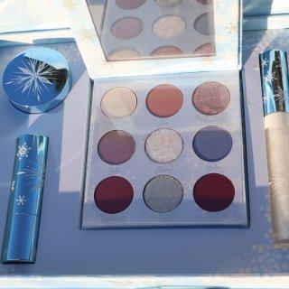 Colourpop Elsa套装试色+眼妆教程💖💖一个化妆师的自我救赎