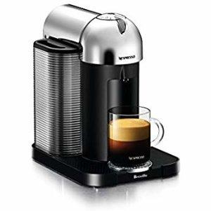 Amazon.com: Nespresso VertuoPlus Coffee and Espresso Machine Bundle with Aeroccino Milk Frother by Breville, White: Kitchen & Dining