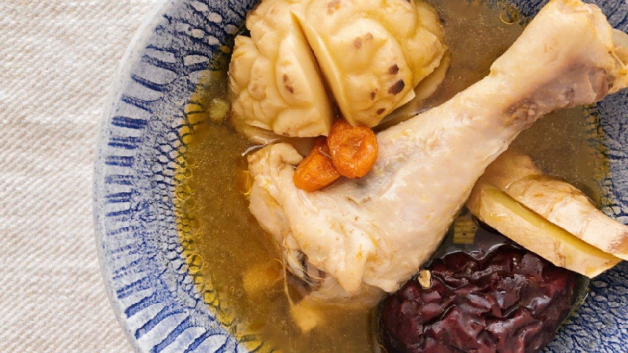 好喝爆的姜鸡汤|终极版|浓郁辛辣|高压锅食谱