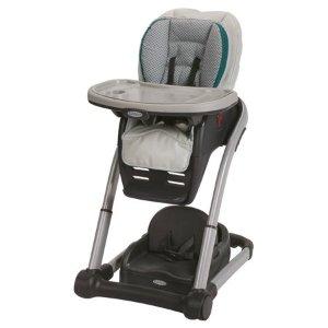 $112.74Graco blossom 六合一婴幼儿高脚餐椅,俩娃可同时用