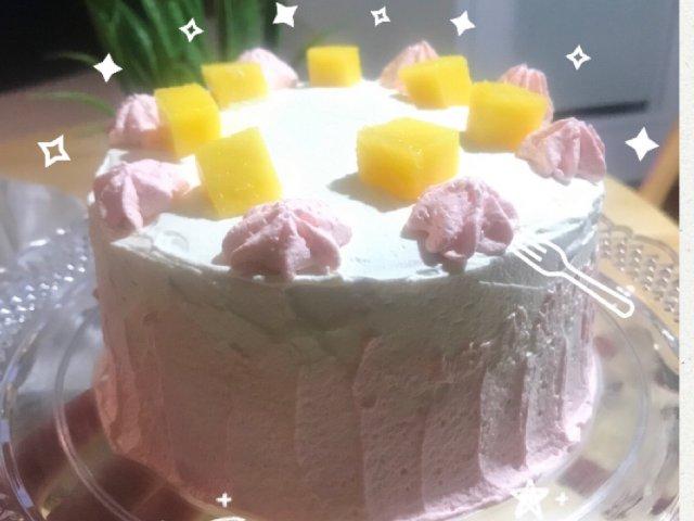 新手小白?一起来做芒果奶油蛋糕