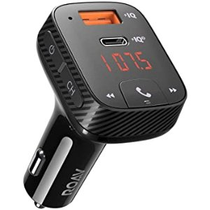 Anker Roav T2 USB-C 车载智能快充 支持收音、蓝牙5.0
