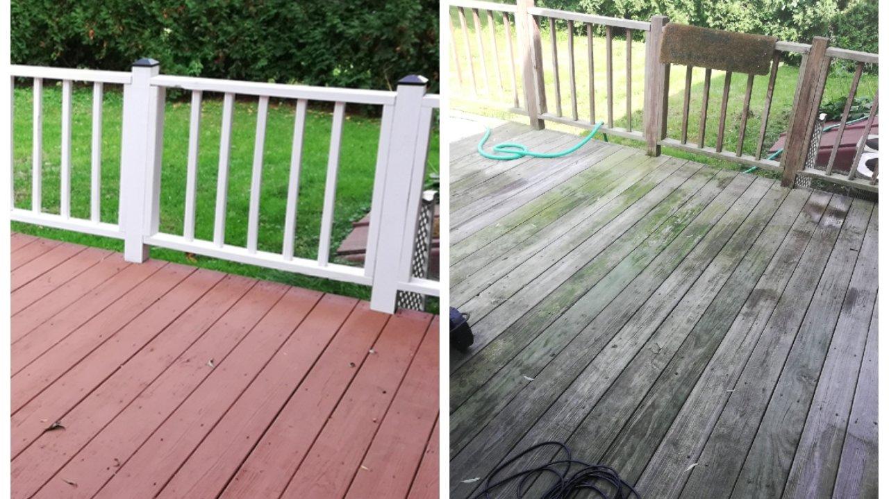 如何亲自打造背景墙?老旧 deck 的华丽变身