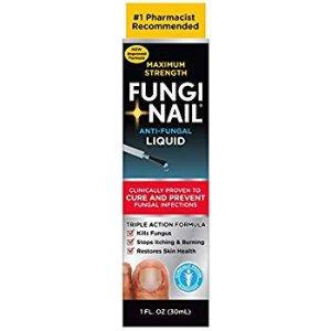 $9.35  包邮 药剂师推荐Fungi-Nail 灰指甲抗真菌治疗液 1oz