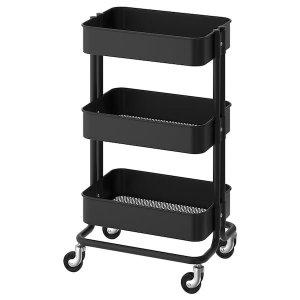 RÅSKOG Utility cart - black - IKEA