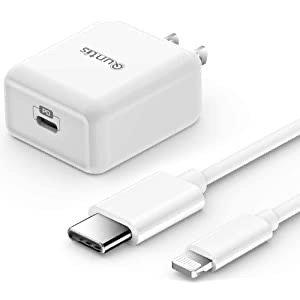 Quntis 18W PD 苹果系列快充套装 (充电头+数据线)