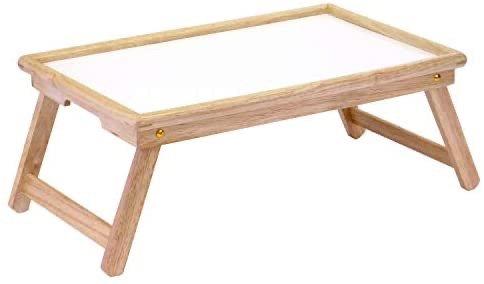可折叠木质小桌 床上可用