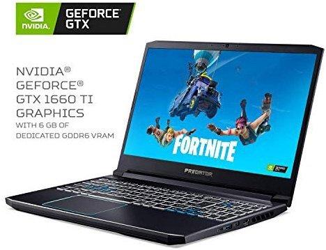 Acer Predator Helios 300 2019款 (144Hz, i7 9750H, 1660Ti, 16GB, 256GB)