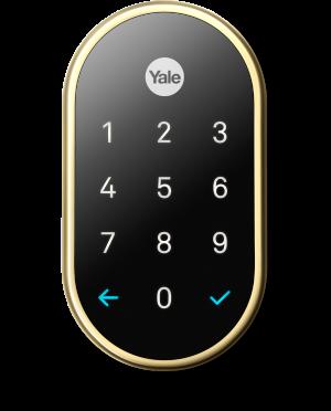 Nest × Yale Lock - Key-Free Smart Deadbolt - Google Store