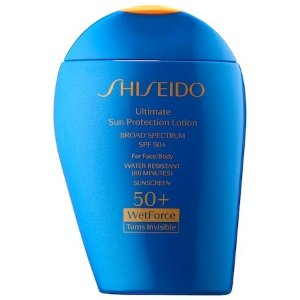 Ultimate Sun Protection Lotion WetForce Broad Spectrum Sunscreen SPF 50+ - Shiseido | Sephora