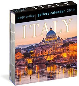 Italy Page-A-Day Gallery Calendar 2019: Workman Publishing: 9781523503049: Amazon.com: Books
