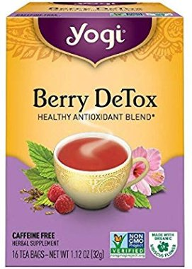 Amazon.com : Yogi Herbal Tea Bags, Berry DeTox 16 ea ( pack of 2) : Grocery & Gourmet Food