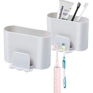 Samhe Toothbrush Holder 2 Pack