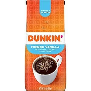 Dunkin' 法式香草口味咖啡粉 12oz