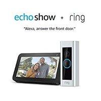 Amazon Ring Video Doorbell Pro 智能门铃 + Echo Show 5 套装