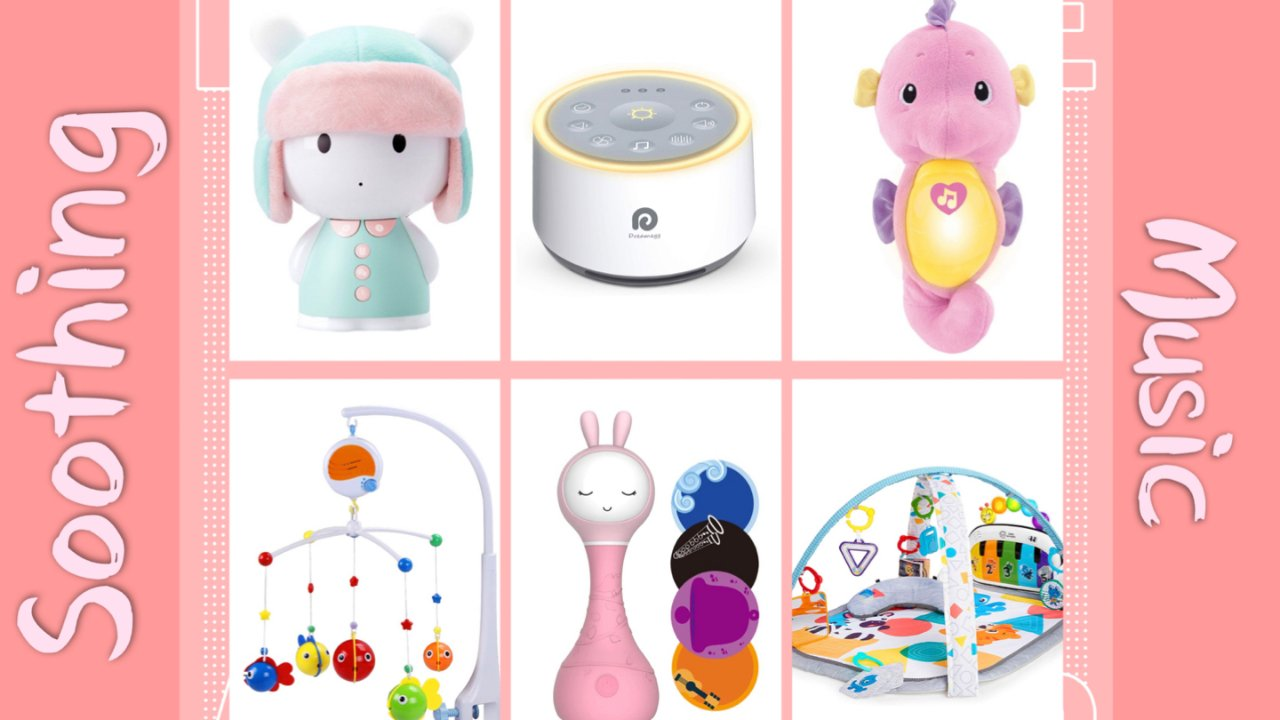 For准妈妈们(第四弹):音乐类宝宝安抚玩具分享🎵