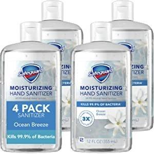 保湿免洗洗手液 4瓶装 12 Oz