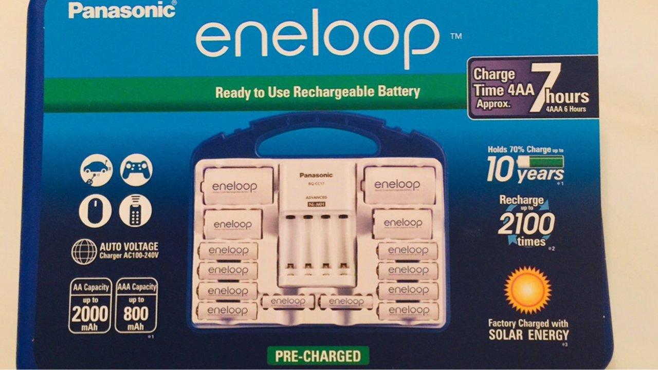 Panasonic 电池充电器套装值得入?