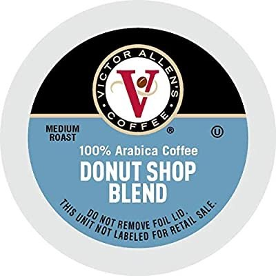 Victor Allen's Donut Shop K-Cup 中焙咖啡胶囊80粒装