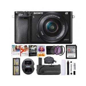 Sony Alpha a6000 + 16-50mm镜头以及配件套装