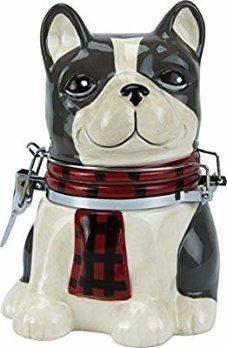 Amazon.com: Mercantile Dog - Hinged Jar: Kitchen & Dining