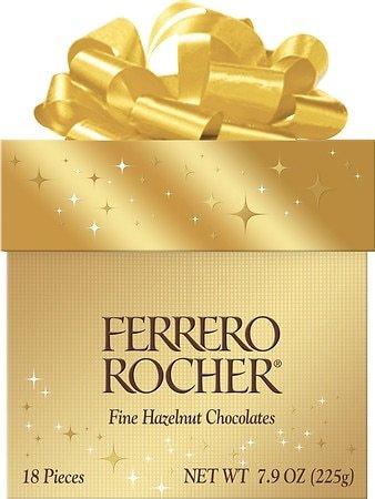 Ferrero Rocher 金莎巧克力 礼盒包装 18颗