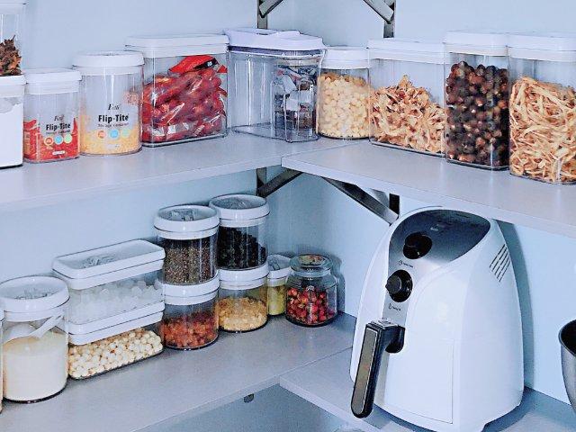 300刀改造一个全新的食品储藏室,...