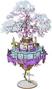 ROBOTIME 天空之城3D拼图木质音乐盒
