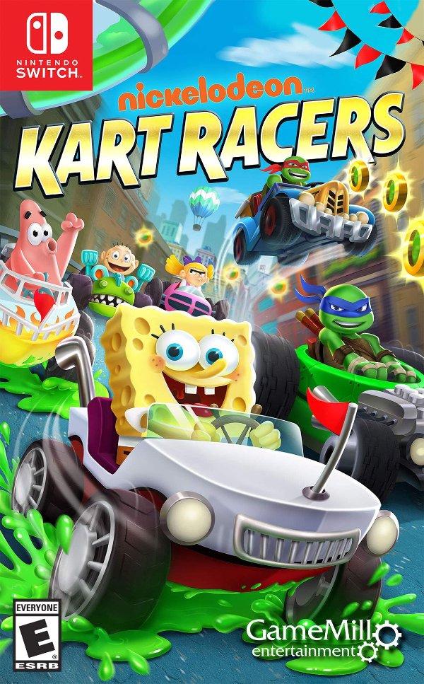 《Nickelodeon赛车手》- Nintendo Switch 实体版