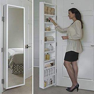 $209.99Cabidor 高颜值门后挂式可调储物柜 带正面镜子