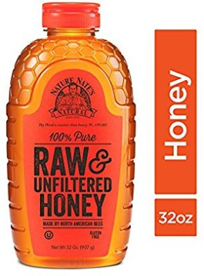Amazon.com : Nature Nate's 100% Pure Raw & Unfiltered Honey; 32-oz. Squeeze Bottle; Certified Gluten Free and OU Kosher Certified; Enjoy Honey's Balanced Flavors, Wholesome Benefits and Sweet Natural Goodness : Grocery & Gourmet Food