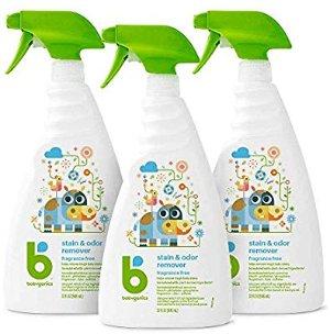 Amazon.com: Babyganics Stain & Odor Remover Spray, Fragrance Free, 32oz Spray Bottle (Pack of 3): Health & Personal Care