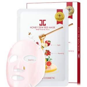 Amazon.com: JAYJUN Honey Dew Red Mask 0.84Fl. Oz Pack of 5: Beauty