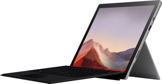Surface Pro 7 (10代i3, 4GB, 128GB) + Type Cover 套装