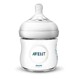 Philips Avent Natural Baby Bottle - Clear - 4oz - 3pk : Target