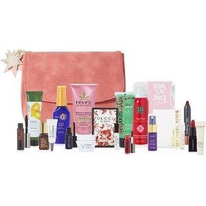 满$75送18件礼包(价值$197)ULTA Beauty 美妆护肤产品满额送好礼 包括Gucci新款香水、小棕瓶