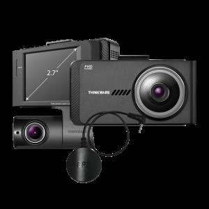$199.99 小编力荐THINKWARE X700 1080P 前后双通道 行车记录仪