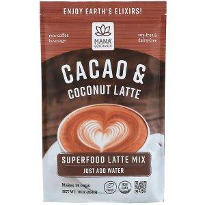 $7.50Hana Beverages 可可椰子拿铁粉 16oz 非咖啡营养饮品