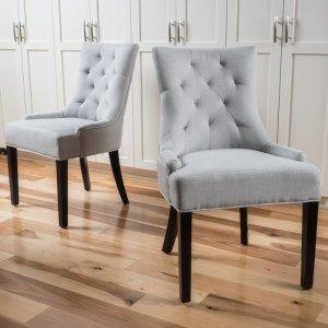 Alcott Hill Grandview Side Upholstered Dining Chair & Reviews | Wayfair