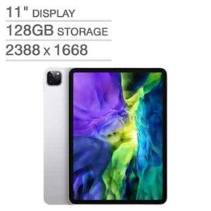 "Apple iPad Pro 11"" A12Z Bionic Chip 128GB - Silver"