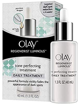 Amazon.com: Dark Spot Corrector Face Serum by Olay Regenerist Luminous Tone Perfecting Moisturizer, 1.3 Fl Oz: Gateway